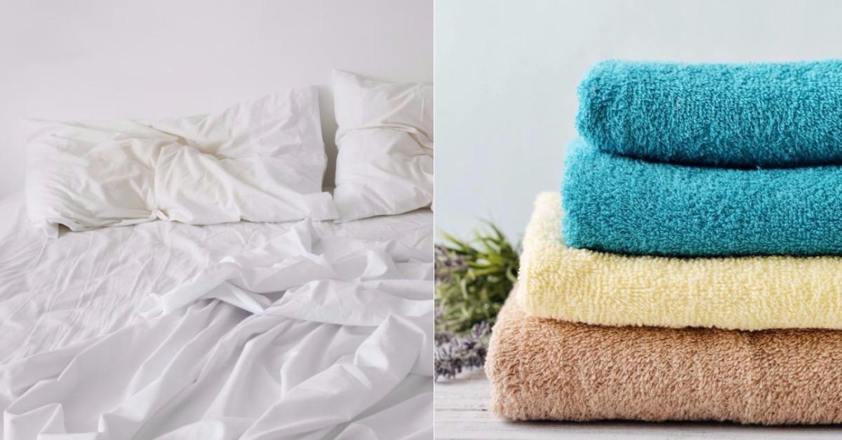 Cada cu nto debemos lavar las toallas y la ropa de cama - Como lavar toallas ...