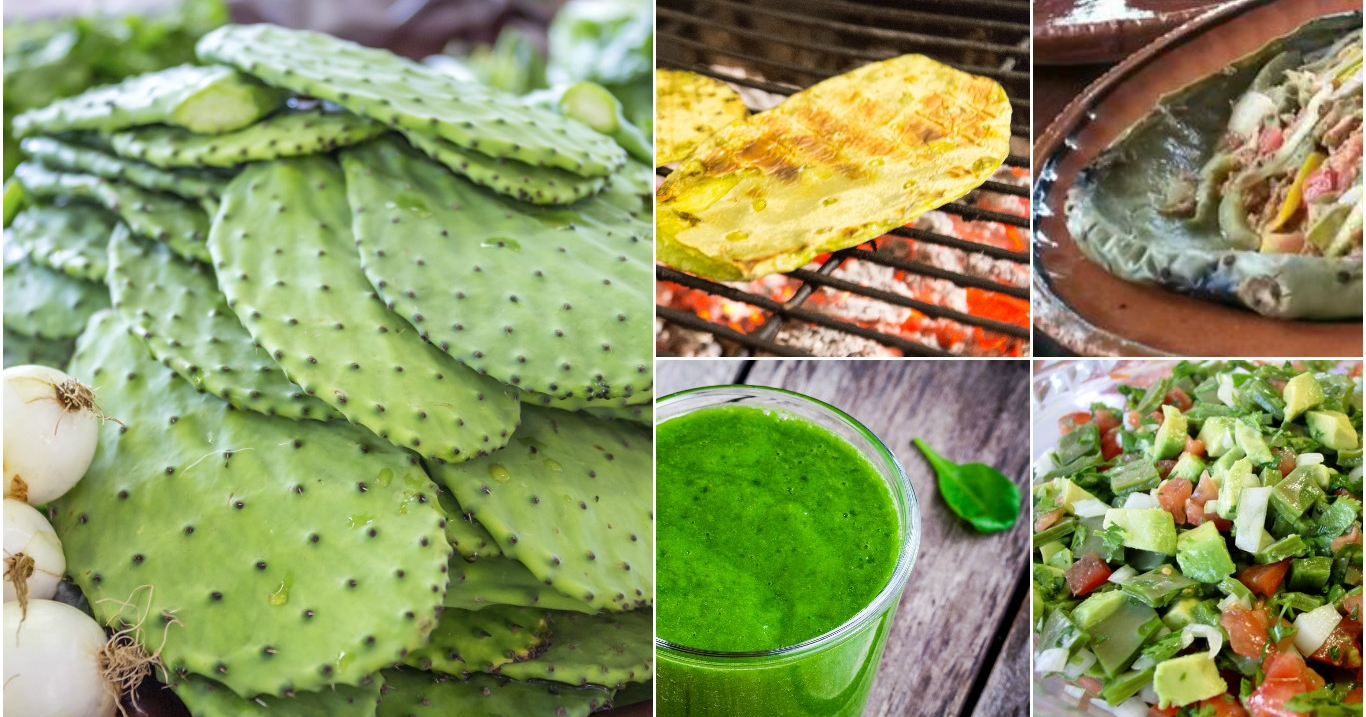Todo lo que necesitas saber para cocinar nopales for Cocinar nopal