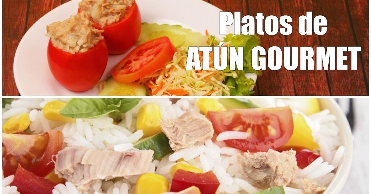 Recetas para elevar una lata de at n a un plato gourmet for Platos gourmet