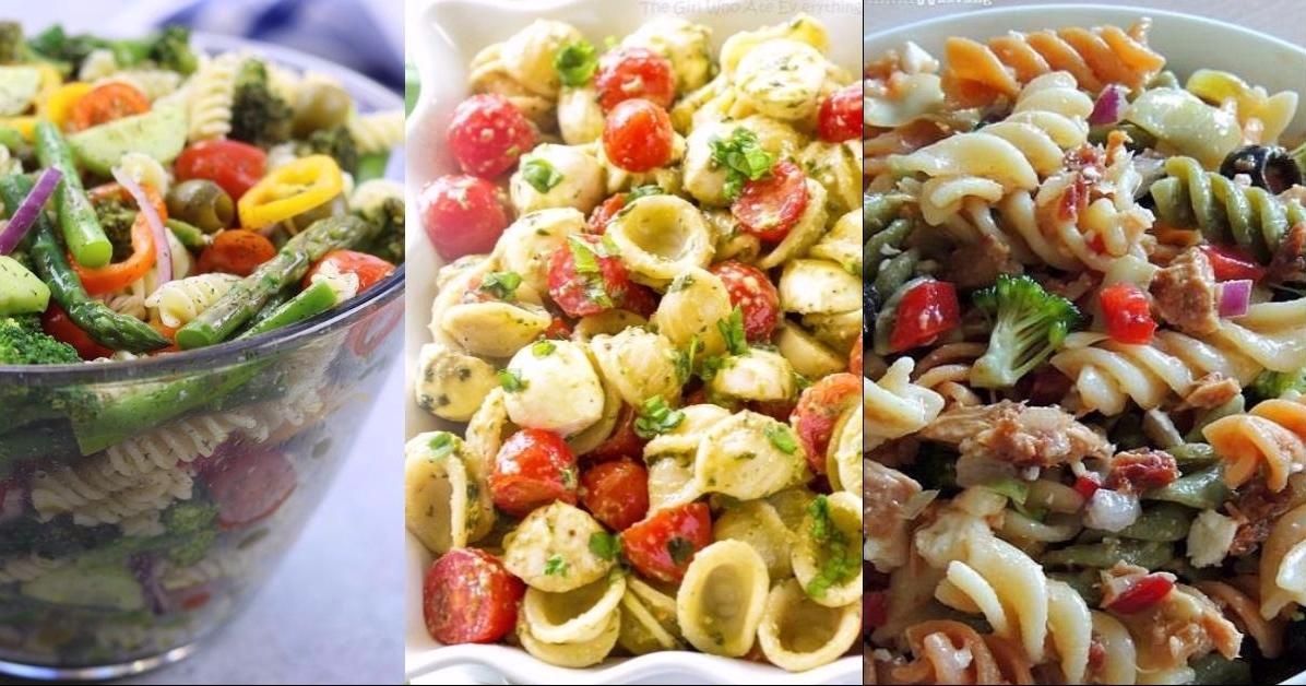 Las mejores ensaladas primaverales con pasta for Las mejores ensaladas