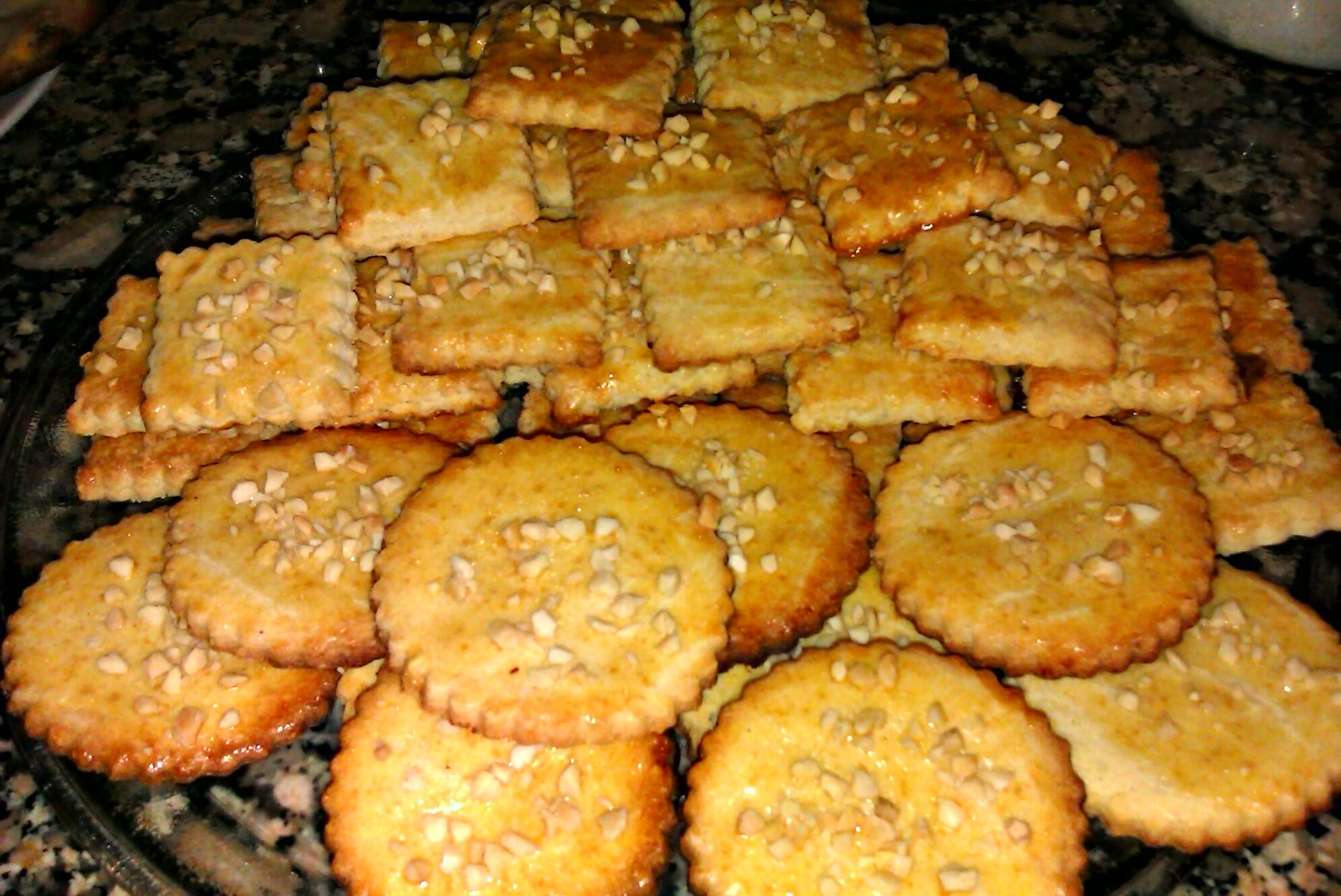 Ricas galletas con yemas de huevo