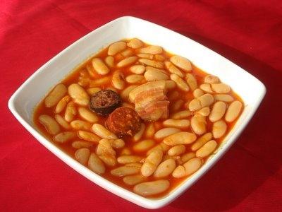 plato de alubias