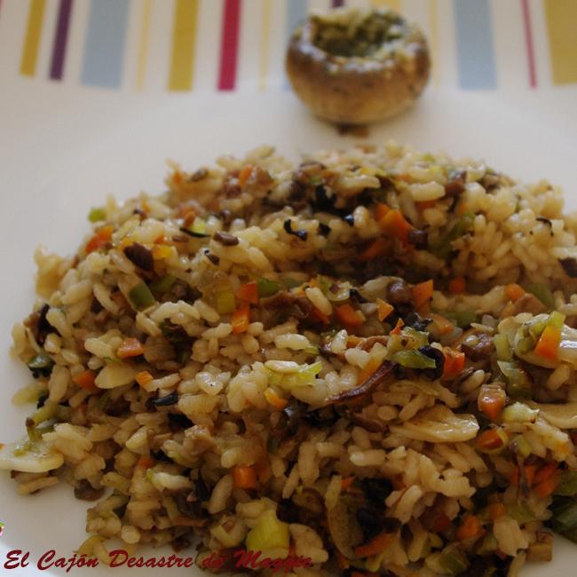 Arroz con setas y verduras 4 3 5 for Arroz con setas y trufa