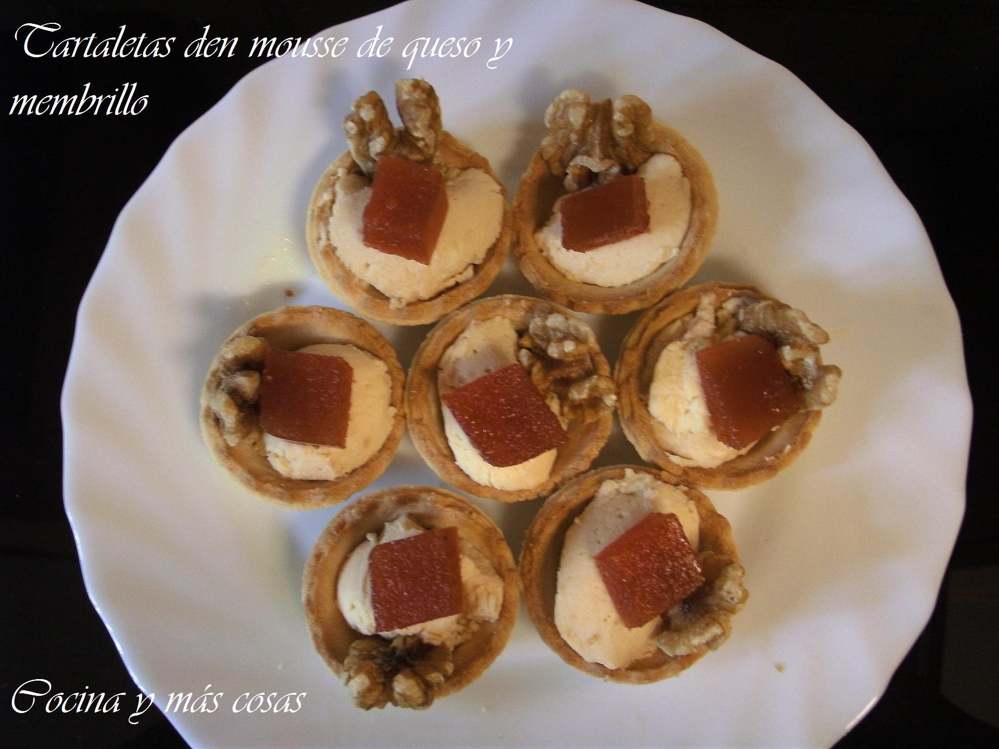 Tartaletas De Mousse De Queso Y Membrillo 375