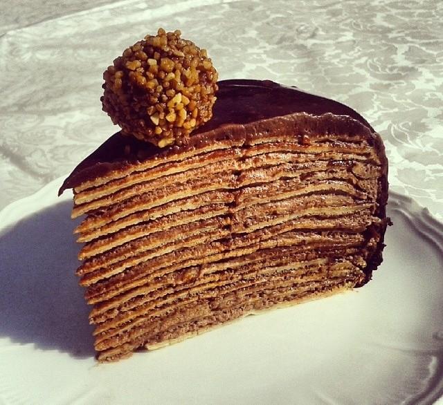 Tarta Mil Crepes Con Chocolate 4 3 5
