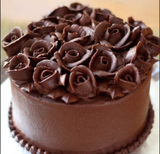 Ganache de chocolate 3 7 5 for Como decorar una torta facil y economica