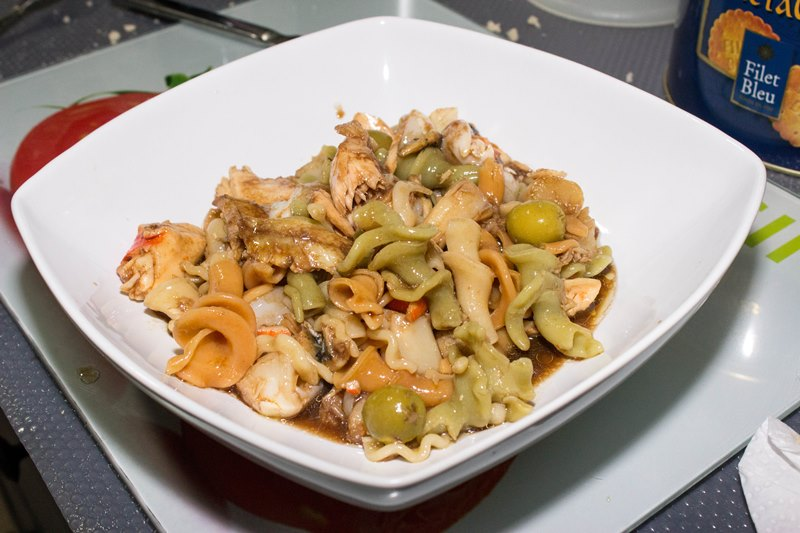 Exquisitos platos de mariscos r pidos for Platos rapidos