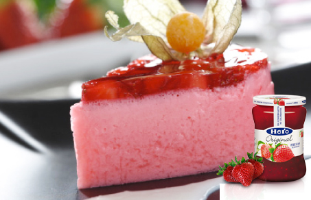 Mousse de fresa y yogur con mermelada original de fresa 3 - Mousse de fresa ...