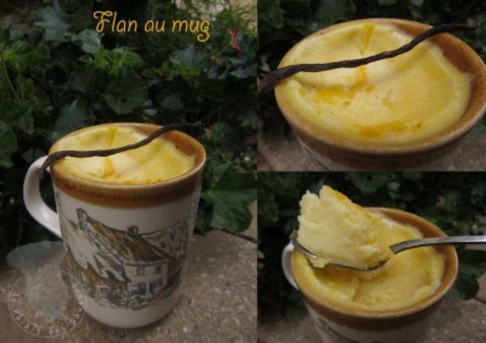 Mug Cake De Flan