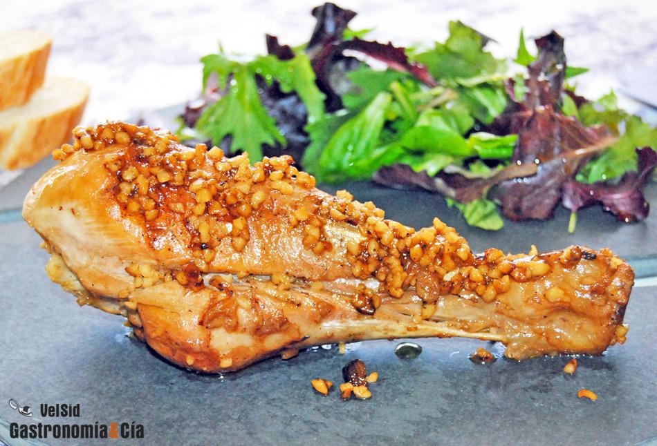 Cocinar Muslos De Pavo | Muslos De Pavo Con Almendra 4 1 5