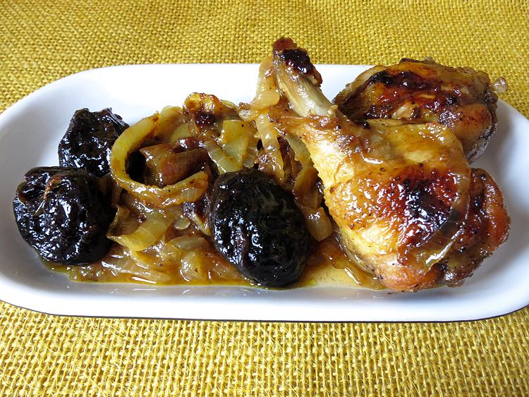 Muslos de pollo rellenos con salsa agridulce 3 6 5 for Cocinar 2 muslos de pollo