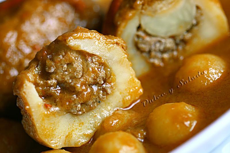 Patatas rellenas de carne picada 2 5 5 - Que cocinar con carne picada ...