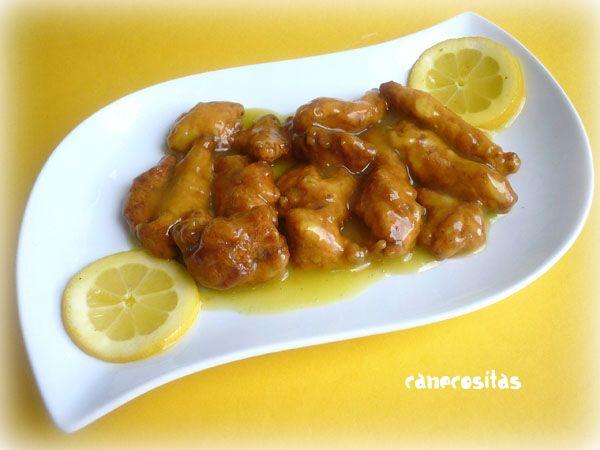 Pollo al lim n estilo chino tradicional - Pechugas de pollo al limon ...