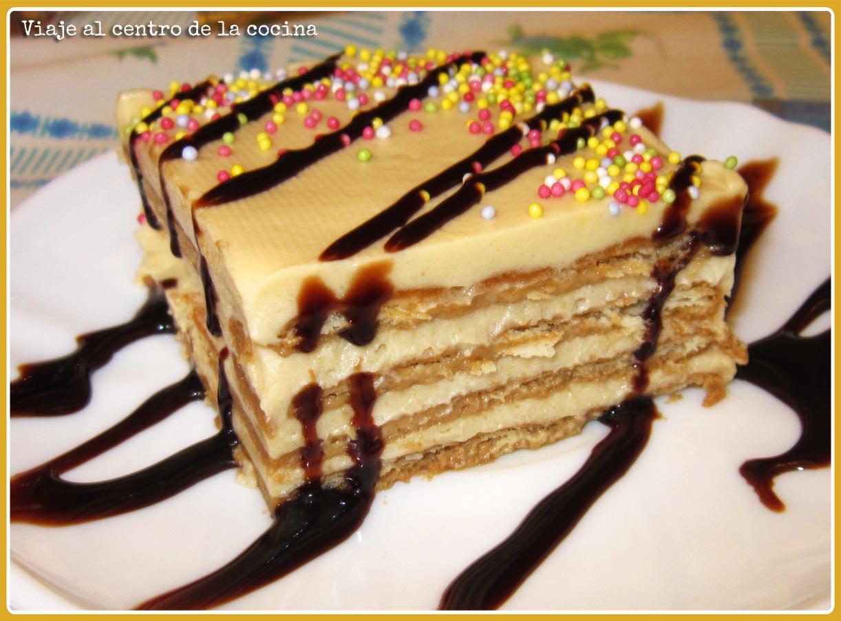 Image Result For Receta De Pastel De Galleta De Chocolate