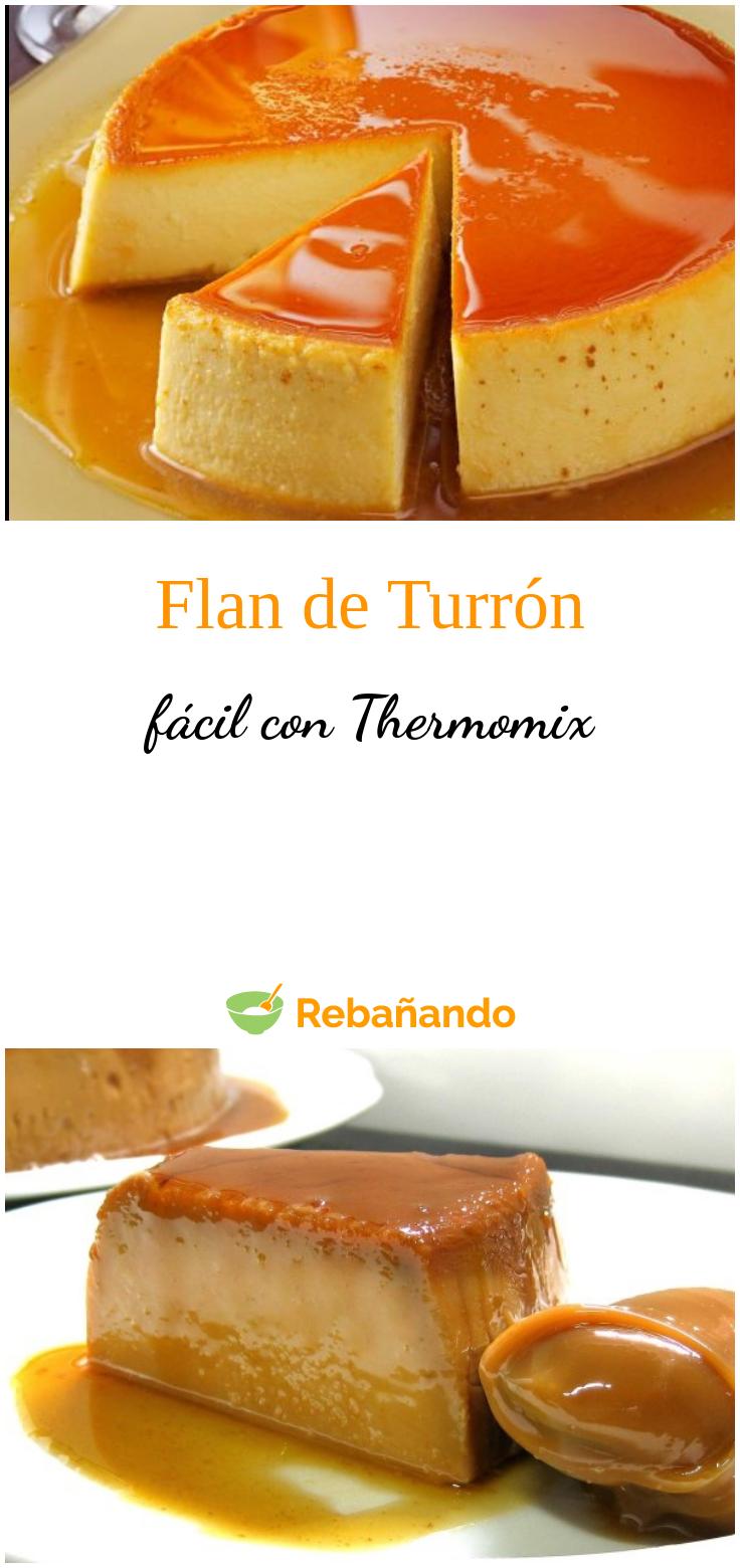Flan De Turrón Con Thermomix 4 5
