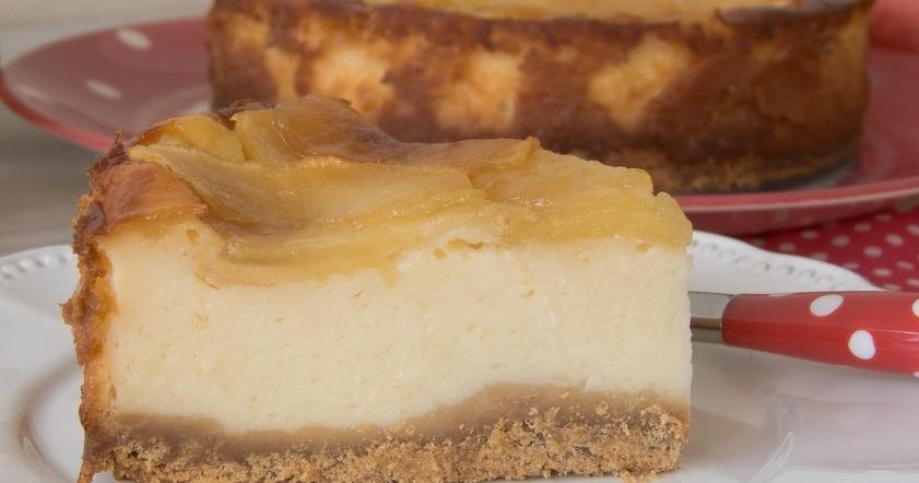 Tarta De Yogur Y Manzana